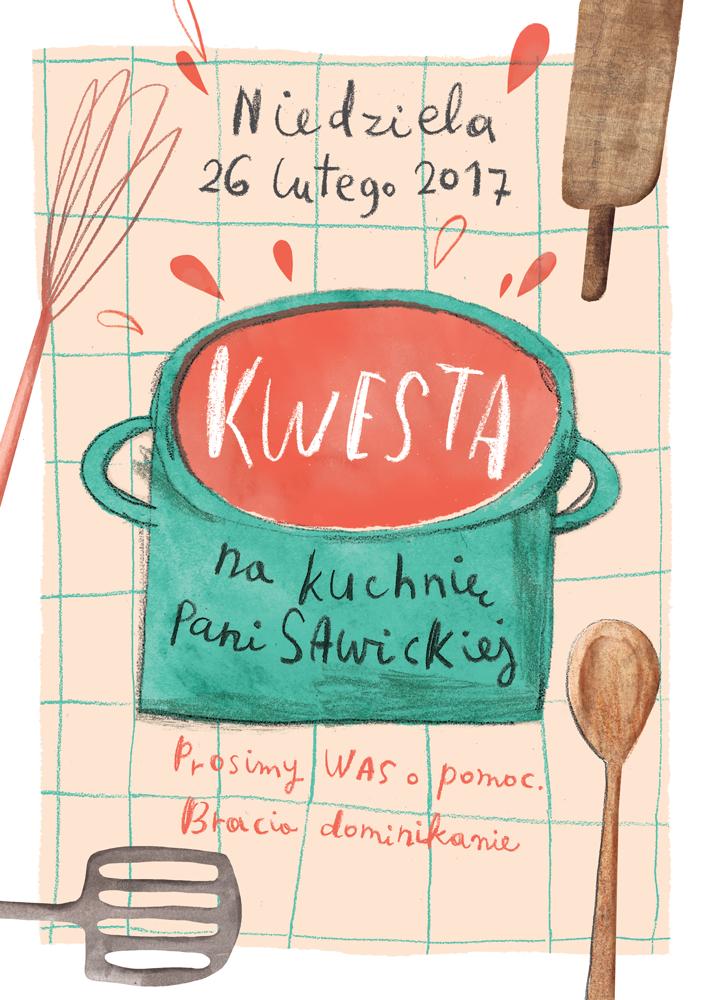 Kwesta Na Kuchnię Pani Sawickiej Dominikanie Kraków